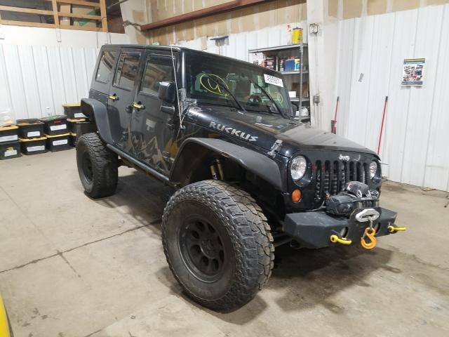 Salvage cars for sale from Copart Anchorage, AK: 2008 Jeep Wrangler U