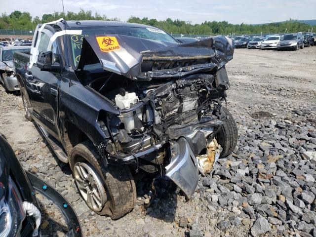 Salvage cars for sale from Copart Duryea, PA: 2015 Toyota Tundra DOU