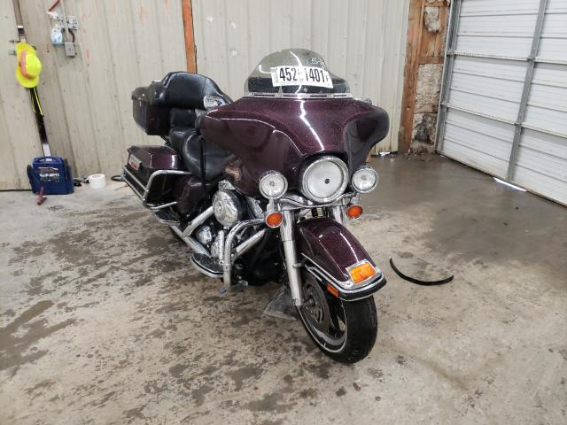 Salvage motorcycles for sale at Madisonville, TN auction: 2007 Harley-Davidson Flht Class