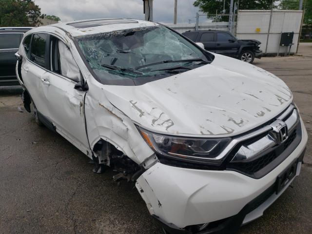 Honda Vehiculos salvage en venta: 2019 Honda CR-V EX