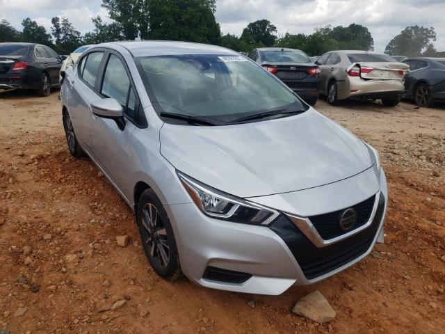 Salvage cars for sale from Copart China Grove, NC: 2020 Nissan Versa SV