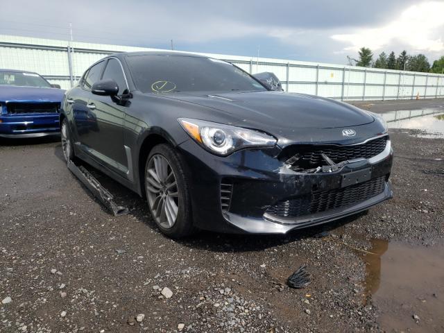 KIA Stinger salvage cars for sale: 2018 KIA Stinger