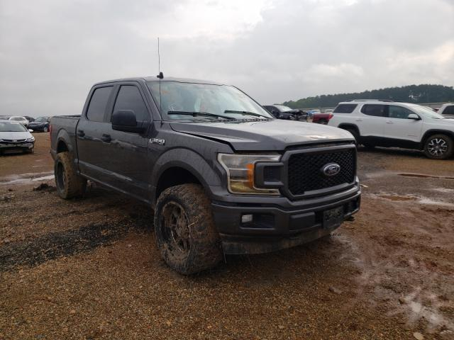Salvage cars for sale from Copart Longview, TX: 2020 Ford F150 Super