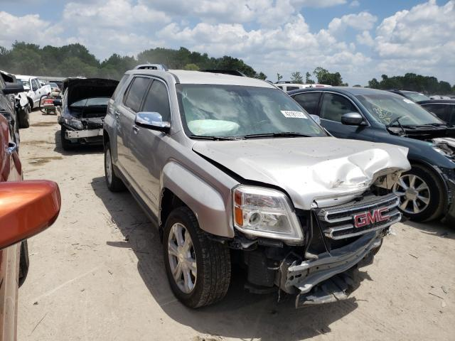 Salvage cars for sale from Copart Riverview, FL: 2017 GMC Terrain SL