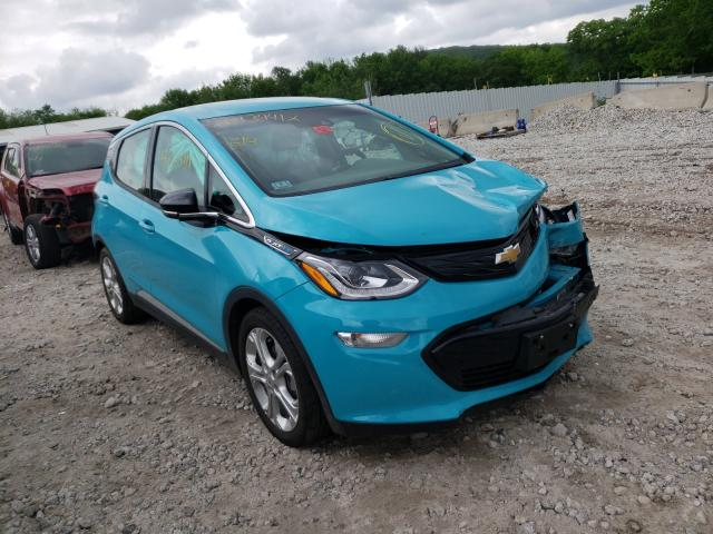Salvage cars for sale from Copart West Warren, MA: 2020 Chevrolet Bolt EV LT