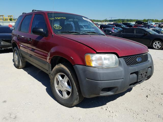 Salvage cars for sale from Copart Kansas City, KS: 2004 Ford Escape XLS