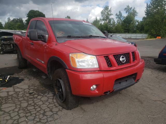 Salvage cars for sale from Copart Portland, OR: 2012 Nissan Titan S