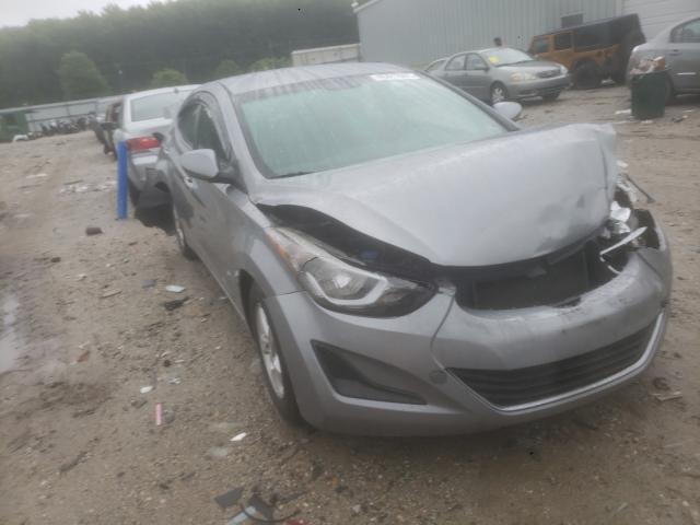 Salvage cars for sale from Copart Hampton, VA: 2015 Hyundai Elantra SE