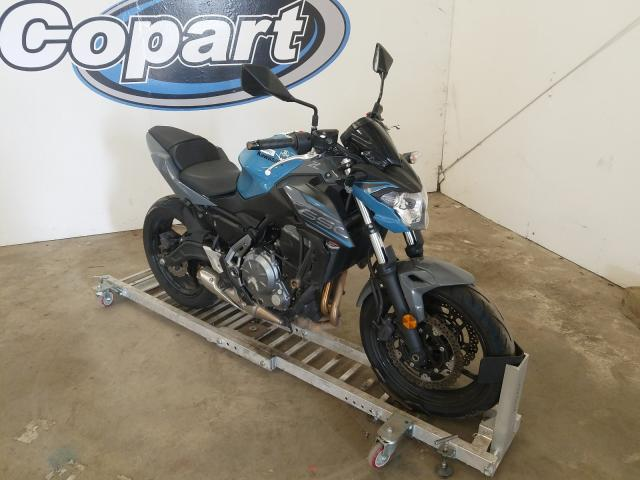 Salvage cars for sale from Copart Portland, OR: 2019 Kawasaki ER650 G