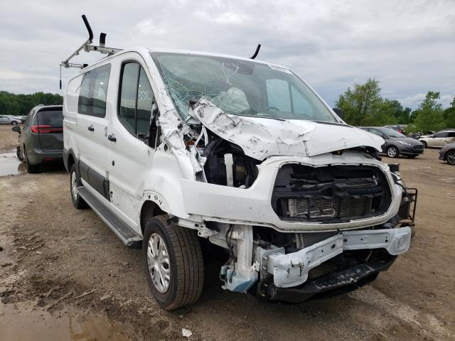 Salvage cars for sale from Copart Columbia Station, OH: 2018 Ford Transit T