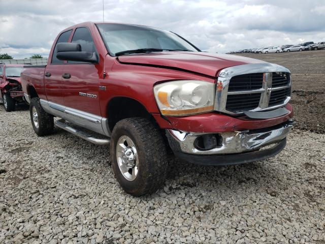 Salvage cars for sale from Copart Louisville, KY: 2006 Dodge RAM 2500 S