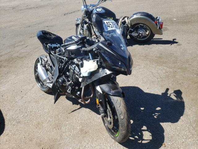 Salvage cars for sale from Copart Denver, CO: 2017 Kawasaki EX300 B