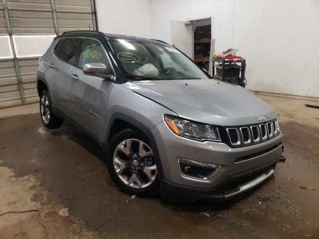 Salvage cars for sale from Copart Davison, MI: 2020 Jeep Compass LI