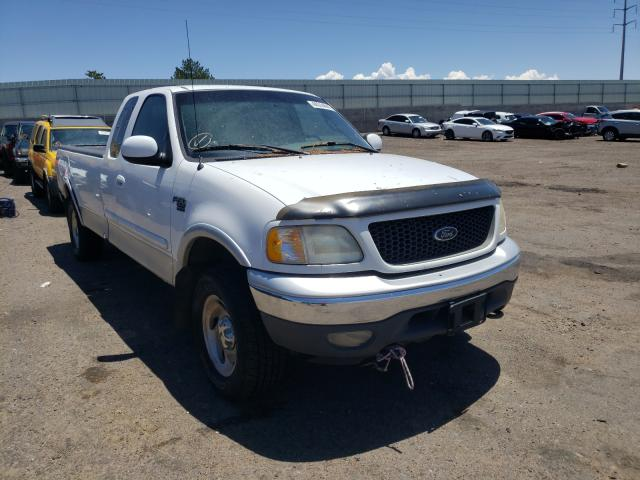 Salvage cars for sale from Copart Albuquerque, NM: 2001 Ford F-150