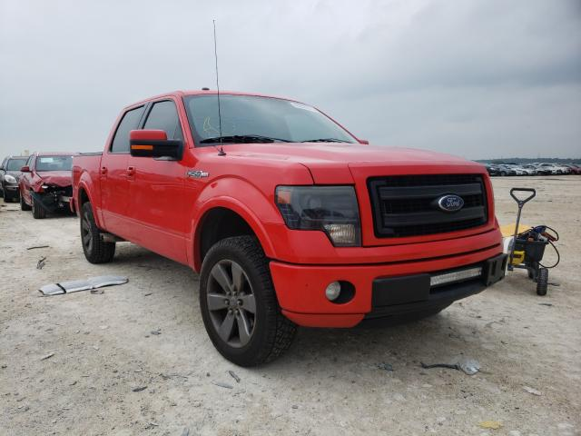 Salvage cars for sale from Copart New Braunfels, TX: 2014 Ford F150 Super