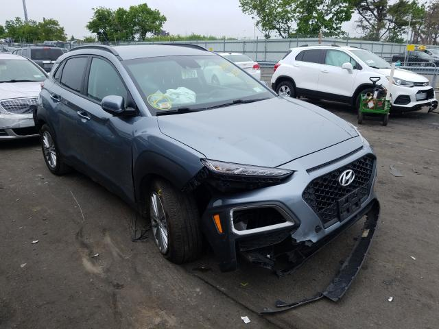 Salvage cars for sale from Copart Brookhaven, NY: 2019 Hyundai Kona SEL