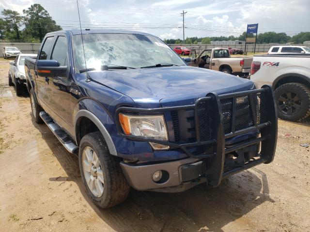 Salvage cars for sale from Copart Newton, AL: 2009 Ford F150 Super