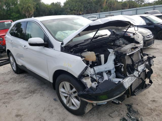 Salvage cars for sale from Copart Fort Pierce, FL: 2016 Ford Edge SEL