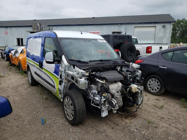 Salvage cars for sale from Copart Davison, MI: 2017 Dodge RAM Promaster