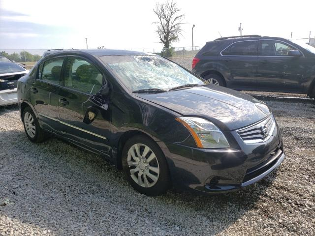 Salvage cars for sale from Copart Cicero, IN: 2012 Nissan Sentra 2.0