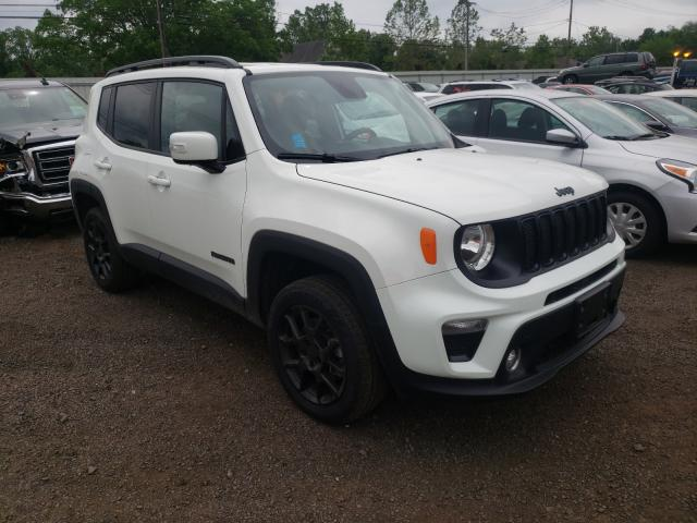 Salvage cars for sale from Copart New Britain, CT: 2020 Jeep Renegade L