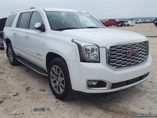 Salvage cars for sale from Copart New Braunfels, TX: 2020 GMC Yukon XL D