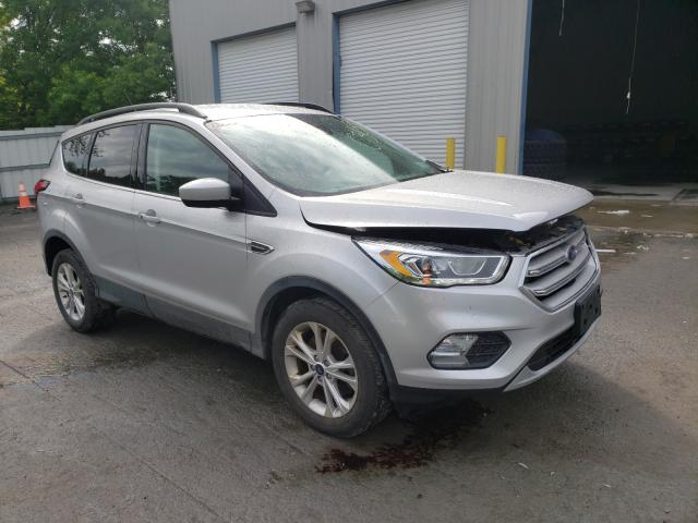 Salvage cars for sale from Copart Albany, NY: 2019 Ford Escape SEL