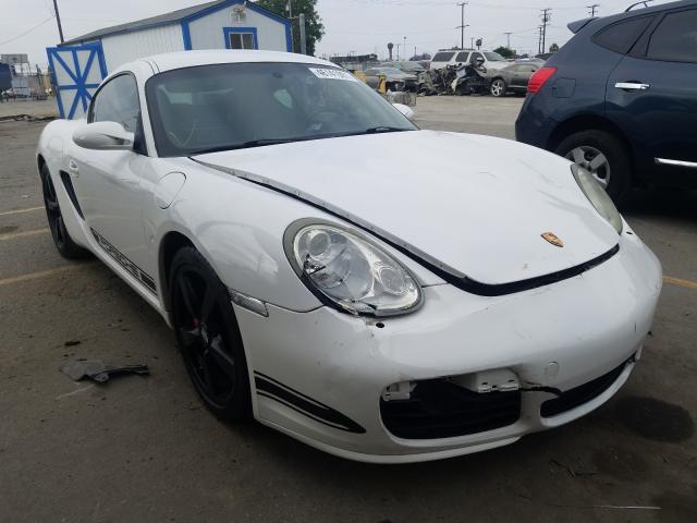 Vehiculos salvage en venta de Copart Los Angeles, CA: 2007 Porsche Cayman S