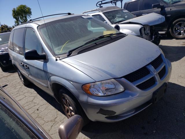 Vehiculos salvage en venta de Copart Martinez, CA: 2003 Dodge Caravan SE
