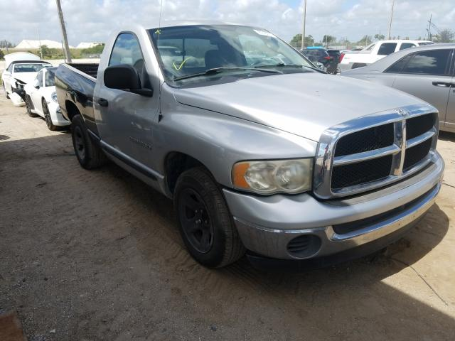 Salvage cars for sale from Copart West Palm Beach, FL: 2005 Dodge RAM 1500 S