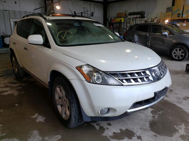Salvage cars for sale from Copart Duryea, PA: 2006 Nissan Murano SL