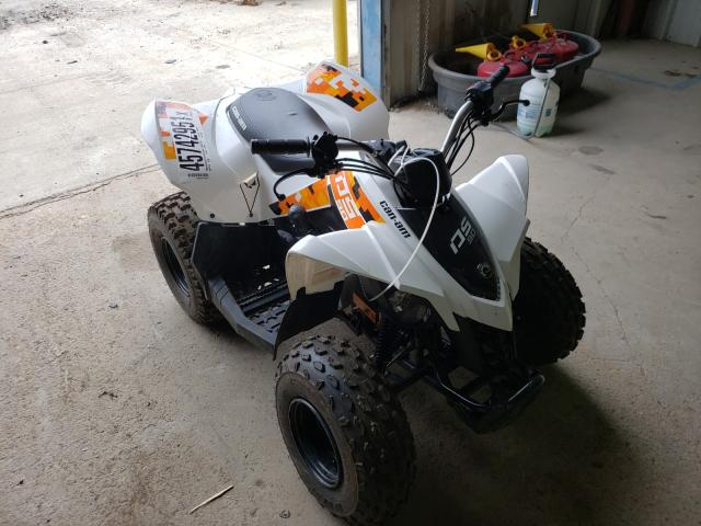 Salvage cars for sale from Copart Florence, MS: 2021 Can-Am DS 90