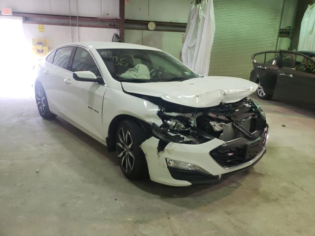 Salvage cars for sale from Copart Leroy, NY: 2020 Chevrolet Malibu RS