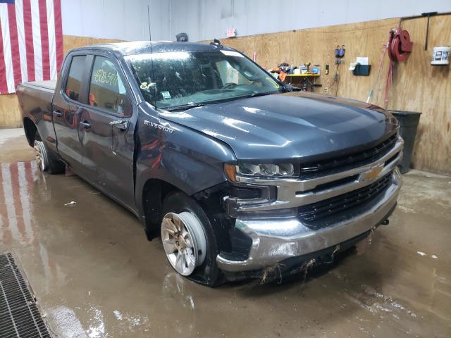 Salvage cars for sale from Copart Kincheloe, MI: 2019 Chevrolet Silverado
