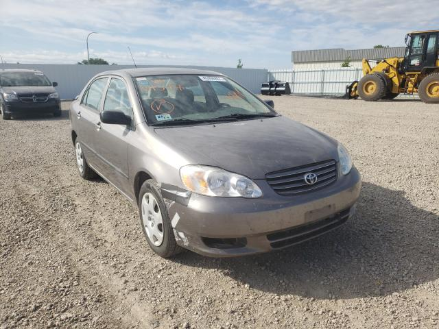 Salvage cars for sale from Copart Bismarck, ND: 2004 Toyota Corolla CE