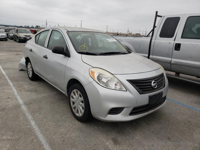 Salvage cars for sale from Copart Sun Valley, CA: 2013 Nissan Versa