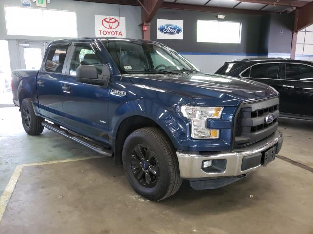 Salvage cars for sale from Copart East Granby, CT: 2016 Ford F150 Super