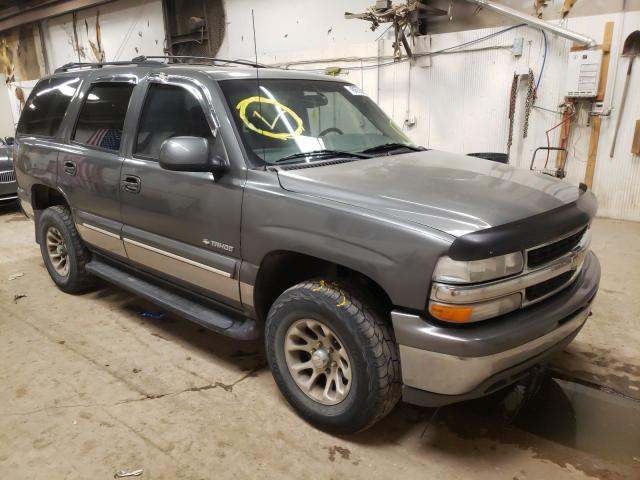 Salvage cars for sale from Copart Casper, WY: 2001 Chevrolet Tahoe K150