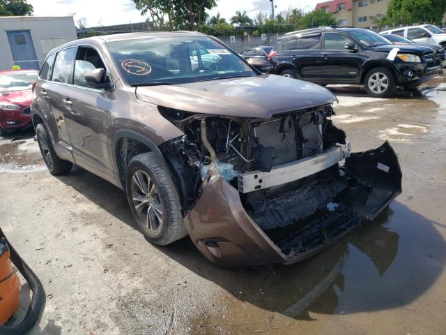 Salvage cars for sale from Copart Opa Locka, FL: 2018 Toyota Highlander