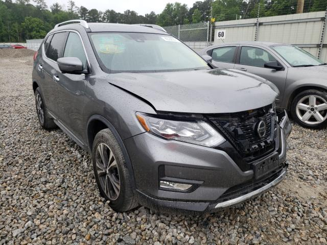 Salvage cars for sale from Copart Ellenwood, GA: 2018 Nissan Rogue S