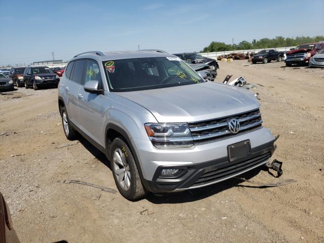 Volkswagen salvage cars for sale: 2019 Volkswagen Atlas SE