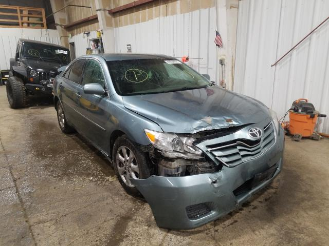 Salvage cars for sale from Copart Anchorage, AK: 2010 Toyota Camry Base