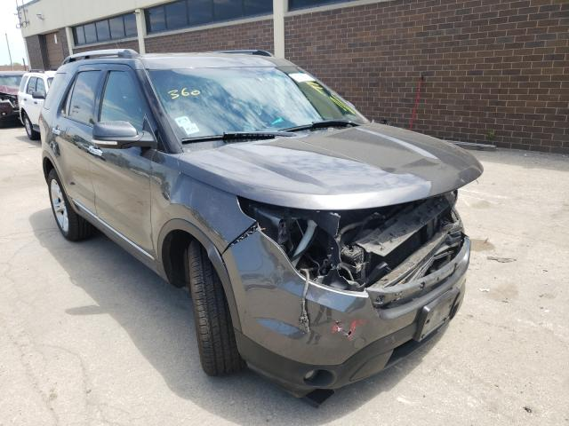 Salvage cars for sale from Copart Wheeling, IL: 2015 Ford Explorer L