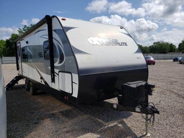 Salvage cars for sale from Copart Theodore, AL: 2018 Wildwood Travel Trailer