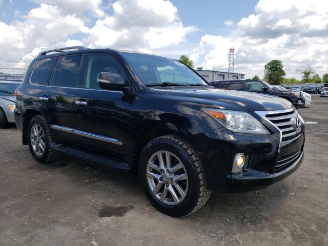 Salvage cars for sale at Finksburg, MD auction: 2013 Lexus LX 570