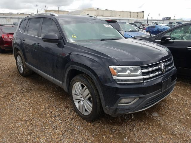 Salvage cars for sale from Copart Mercedes, TX: 2019 Volkswagen Atlas SEL