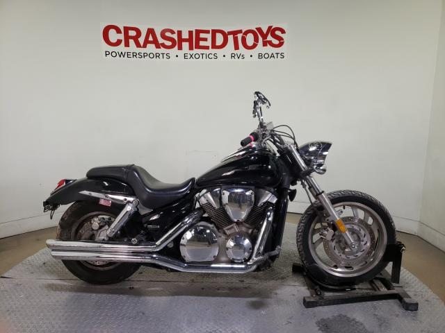 Salvage motorcycles for sale at Dallas, TX auction: 2004 Honda VTX1300 C