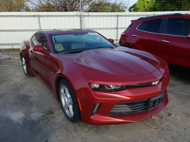 Salvage cars for sale from Copart Corpus Christi, TX: 2017 Chevrolet Camaro LS