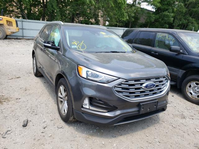 Salvage cars for sale from Copart North Billerica, MA: 2019 Ford Edge SEL