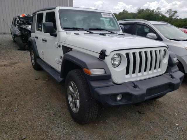Salvage cars for sale from Copart Jacksonville, FL: 2020 Jeep Wrangler U
